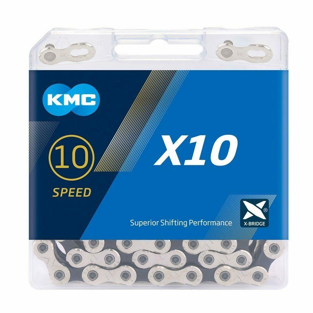 Køb KMC X10 114 Links Cykelkæde